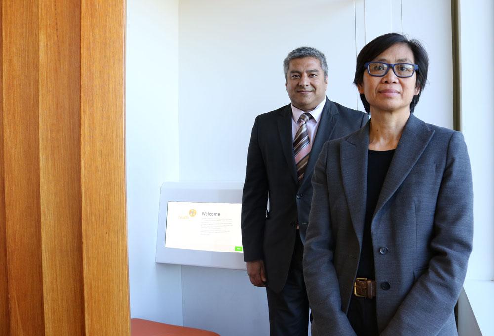 Professor Rachel Davey, Director UC-HRI and Dr Paresh Dawda, Ochre Health.