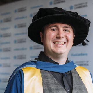 Dr Max Halupka has received a Doctor of Philosophy from the University of Canberra