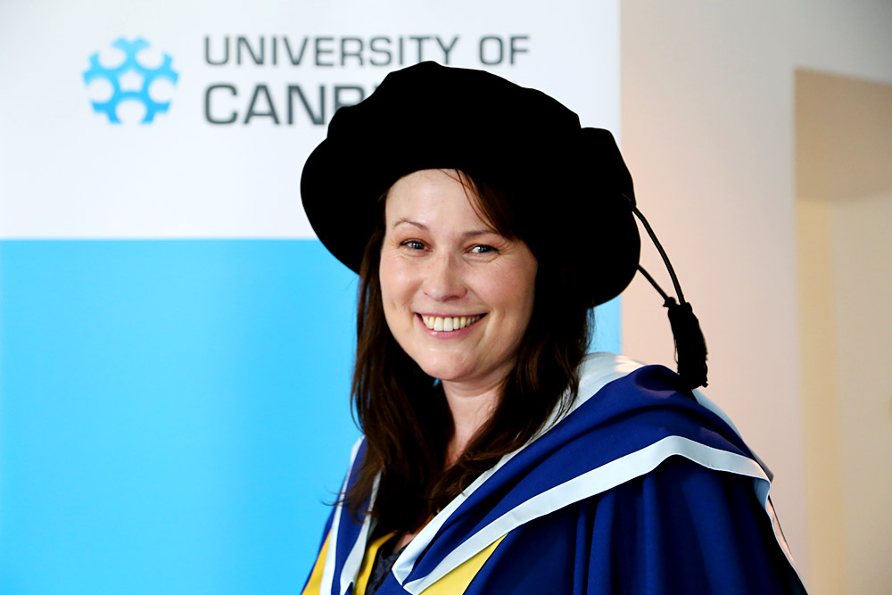 Dr Jane Frost, an Assistant Professor (Clinical) in Nursing at the University of Canberra