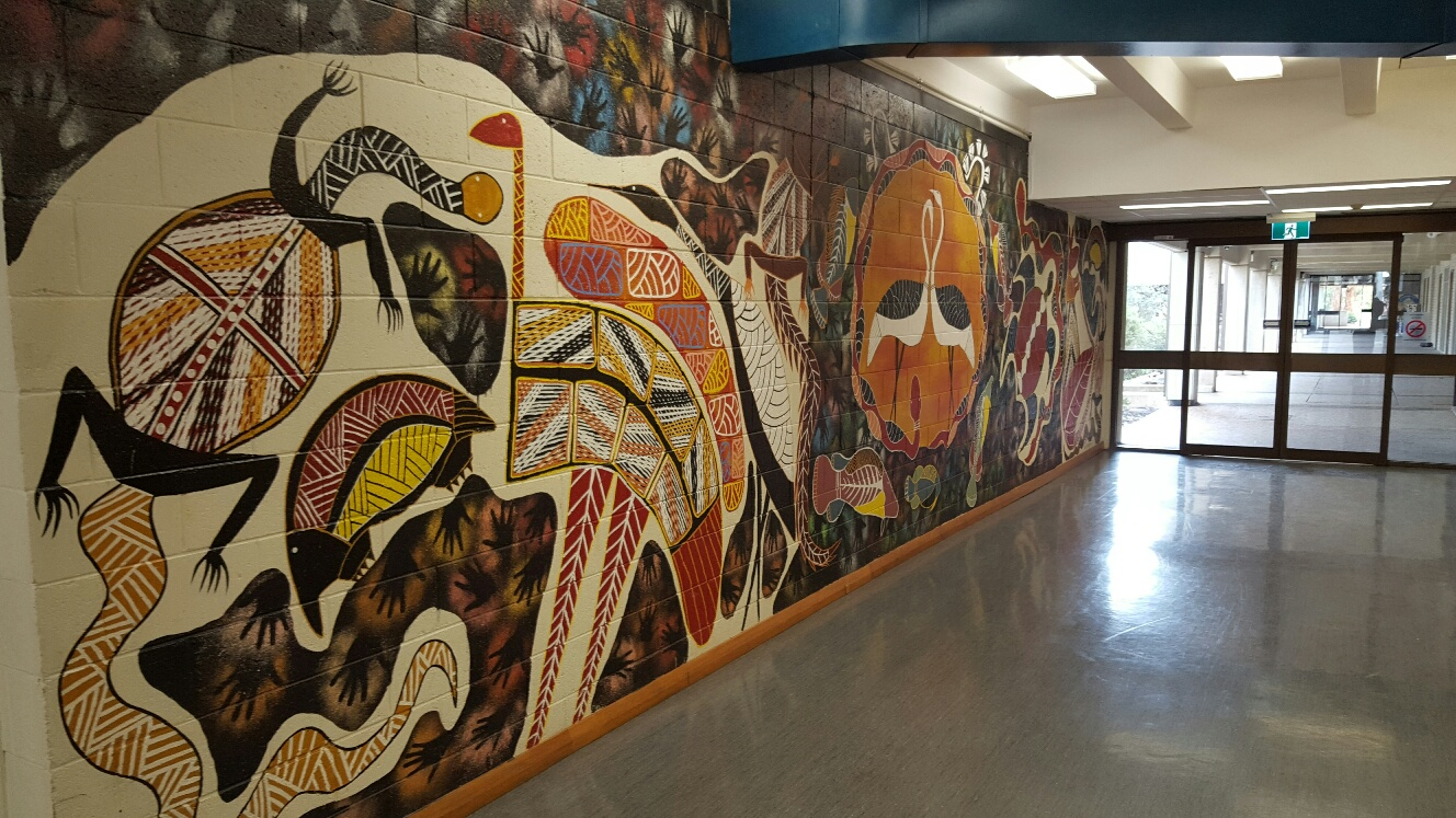 Dale Huddleston's Mural