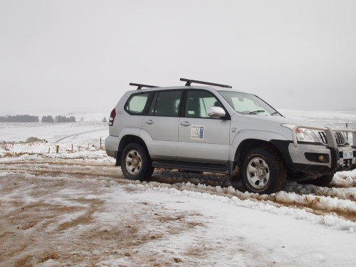 IAE 4WD in snow