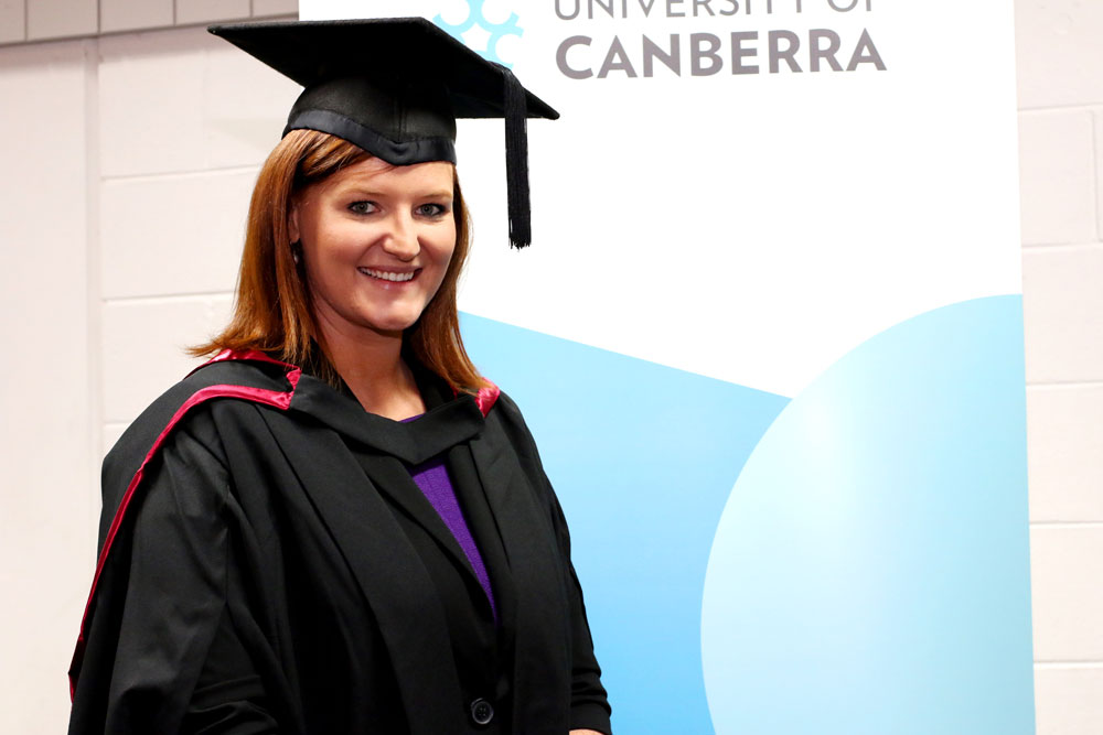 From first class to first class honours - University of Canberra