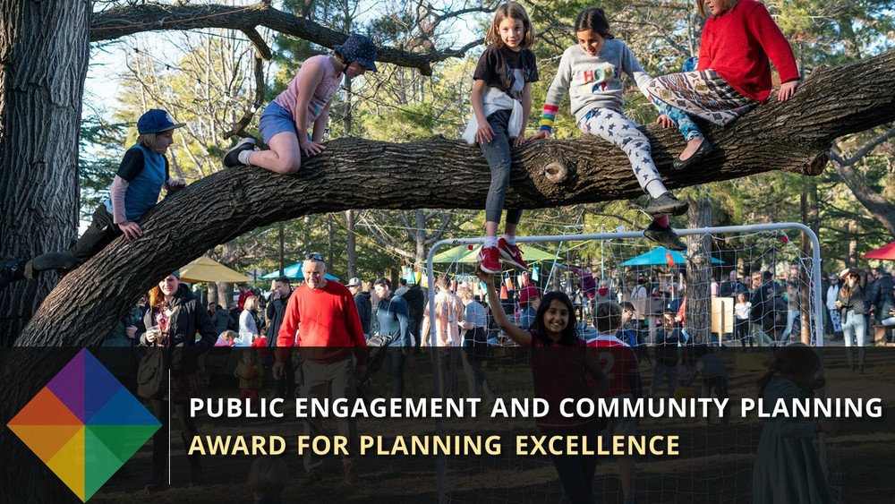 Haig Park Experiments wins Planning Institute of Australia (ACT) Award