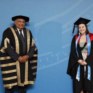 Tom and graduate