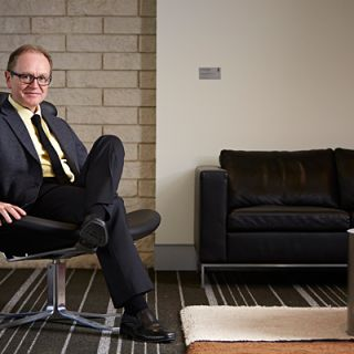 Vice-Chancellor Professor Stephen Parker