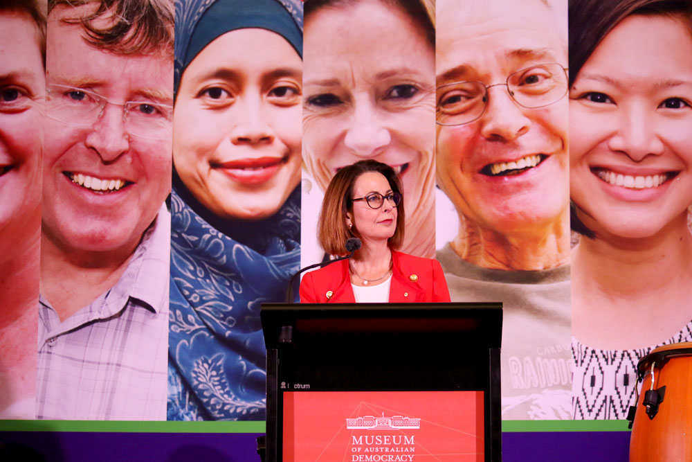 50/50 by 2030 Foundation Director Virginia Haussegger