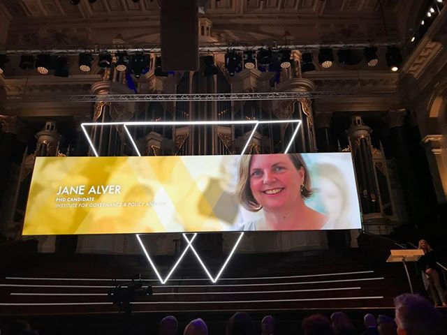 Jane Alver at the AFR Top 100 Women Influencers 2018