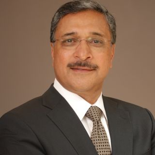 Portrait of Professor Deep Saini, new VC
