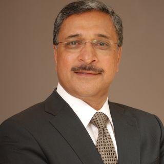Portrait of Professor Deep Saini, new VC