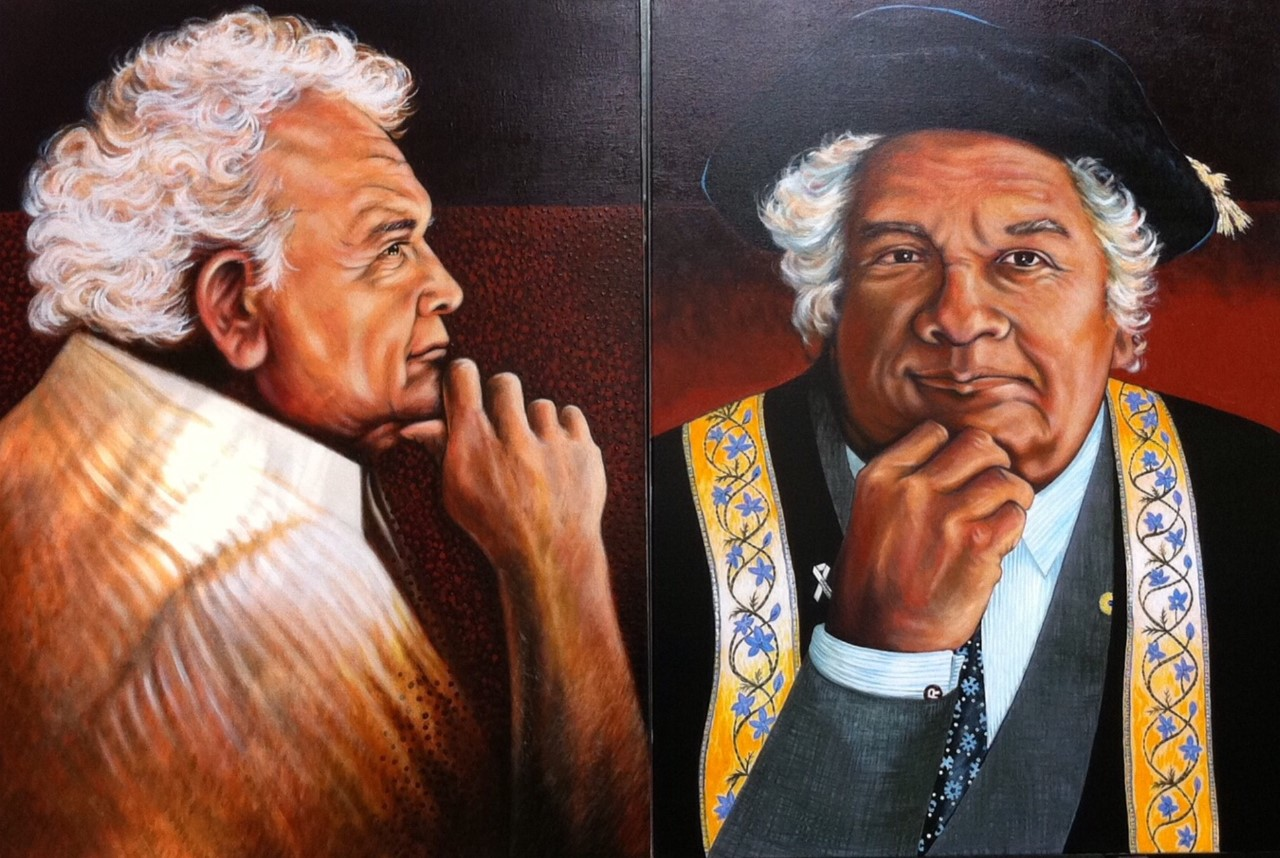 Dr Tom Calma by Neville Dawson