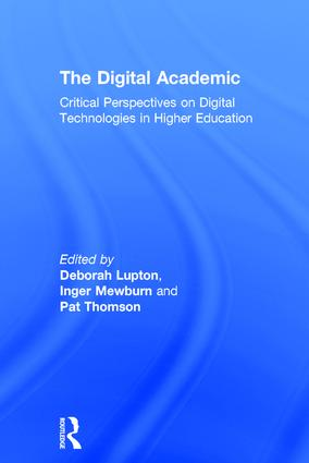 The Digital Academic Book Cover
