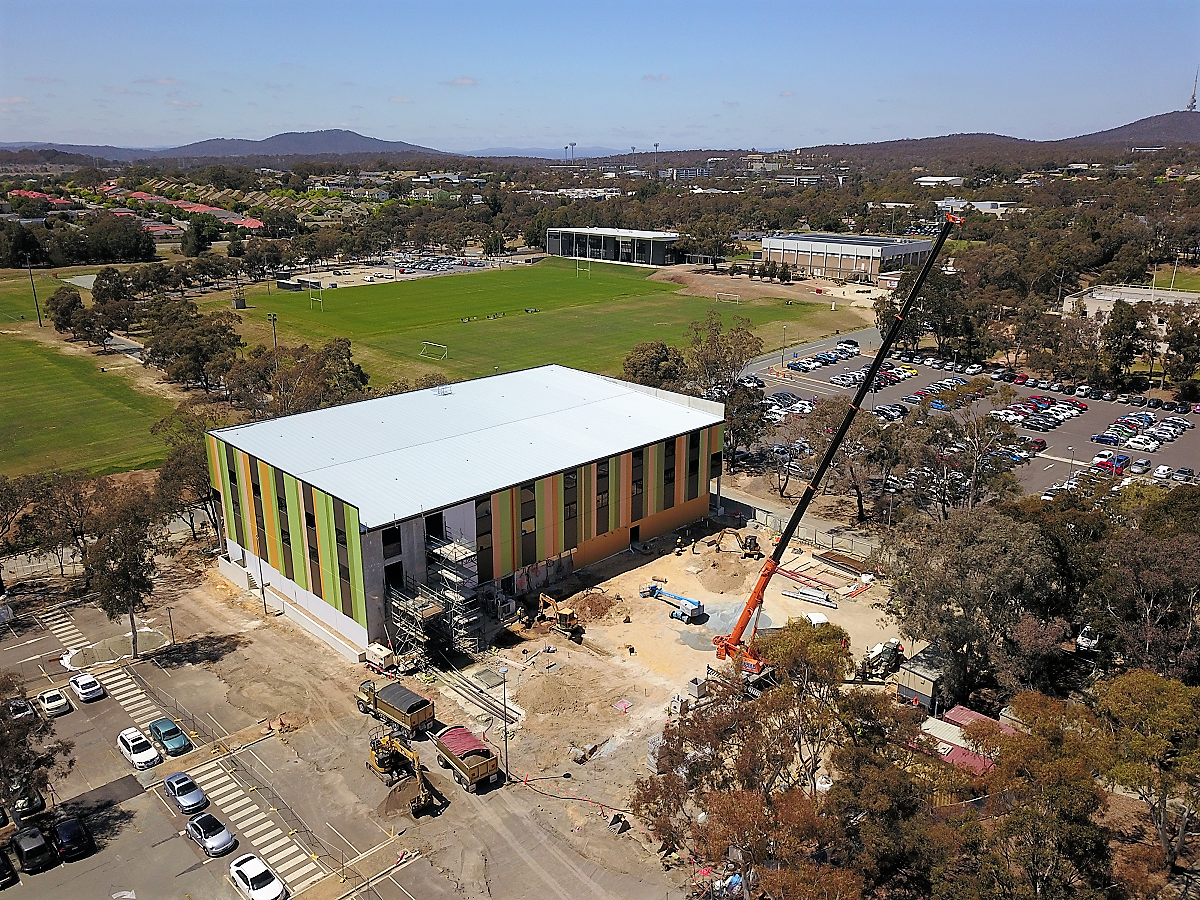 Canberra Specialist Medical Centre Construction Progress