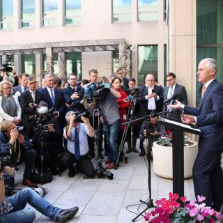 Malcolm Turnbull gives his farewell speech after the Liberal leadership spill that saw Scott Morrison replace him as Australia's PM.