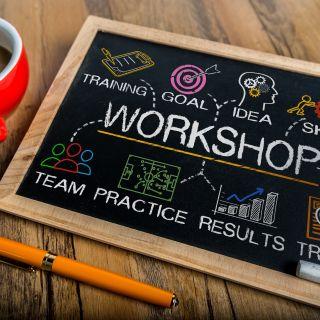 workshop stock image