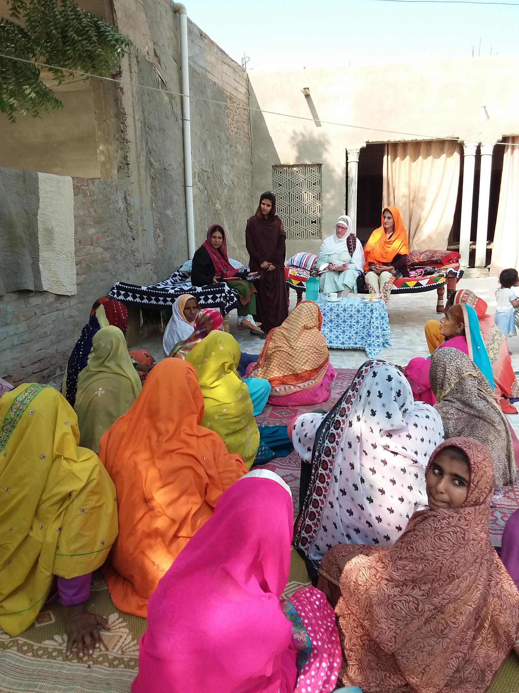 Female Farmers Sharing