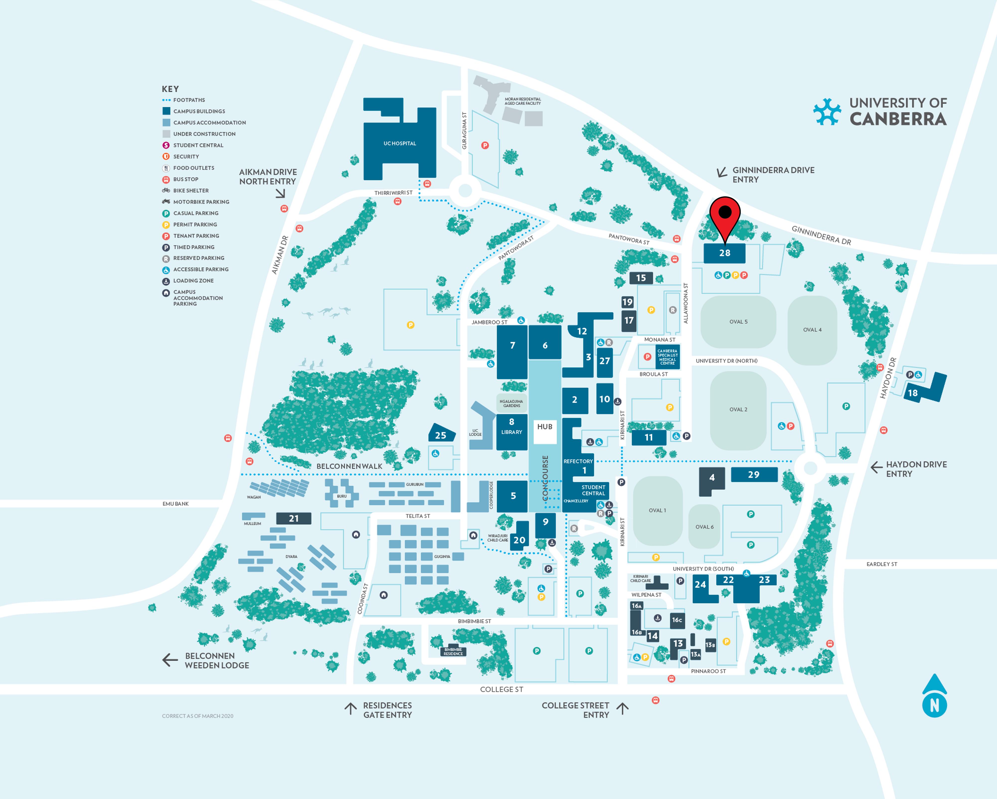 Health Hub Map