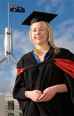 UC Graduate at Australia's Parliament House