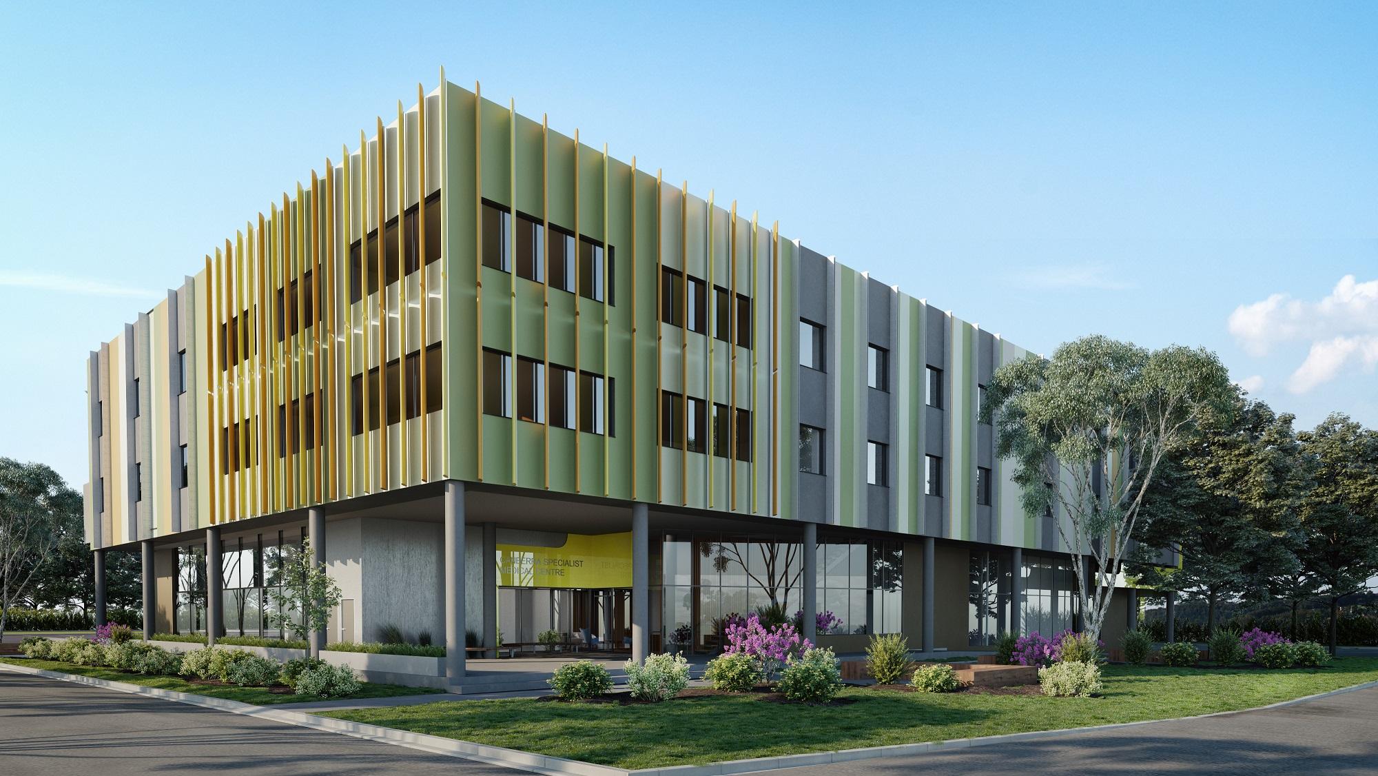 Canberra Specialist Medical Centre 3D Render