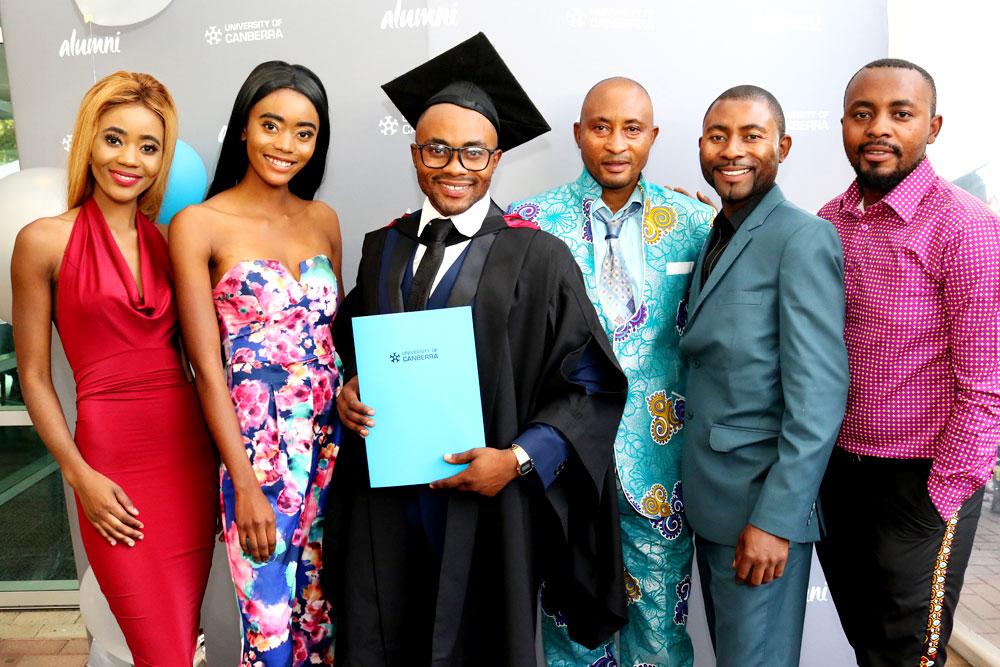 Monga Mukasa and his family