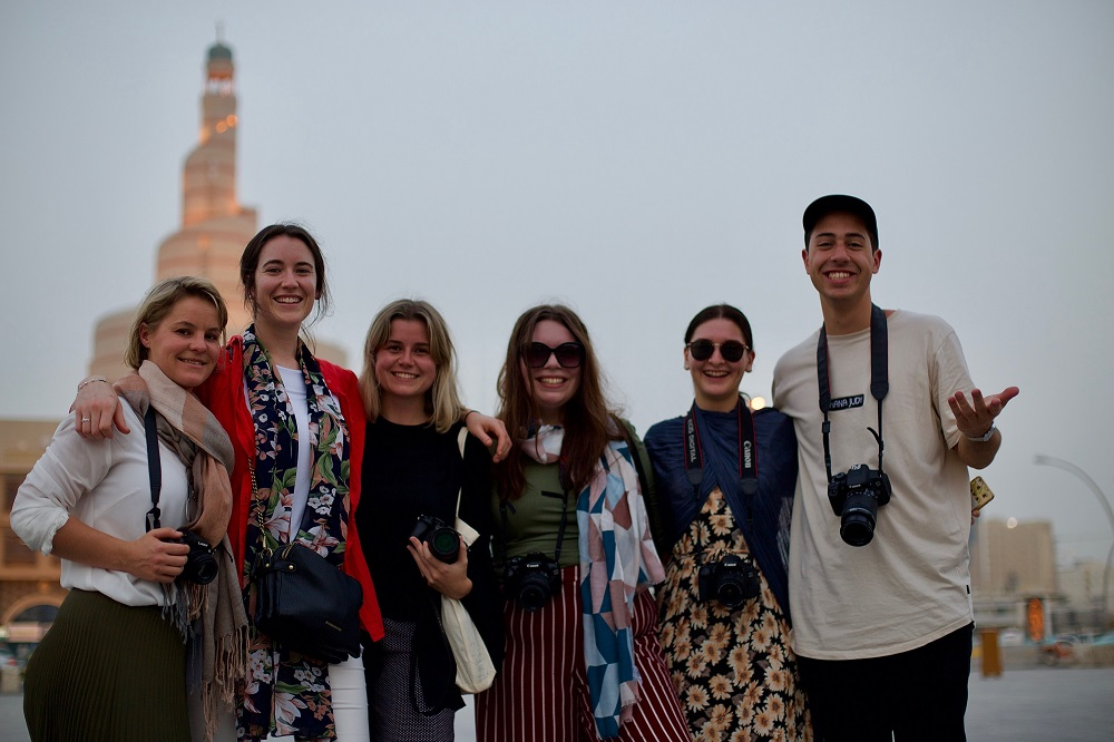 The six participants of #AMEJE18 gained fresh perspective on the Middle East, and forged amazing connections with the people they met on their trip.