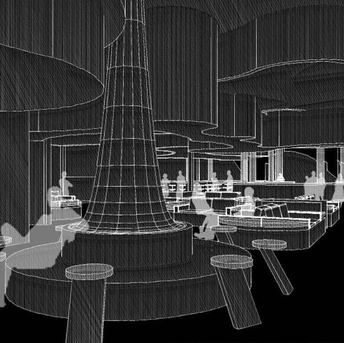 Interior Architecture, Public Lounge, Phil Tran