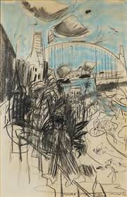 Kevin Connor Sydney Harbour courtesy of Mutual Art