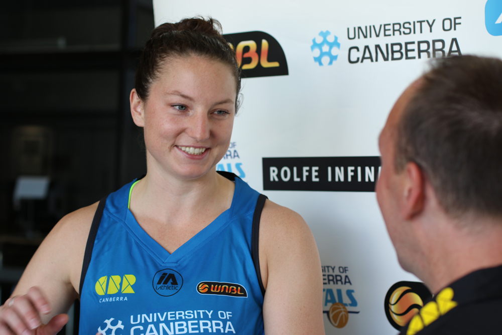 Image of new UC Capitals signing Kelsey Griffin