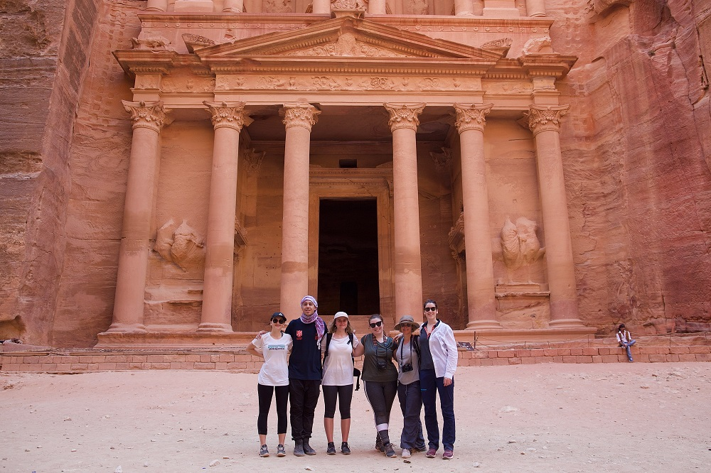 One of the #AMEJE18 visits was to the ancient city of Petra, where participants had a closer look at conservation efforts