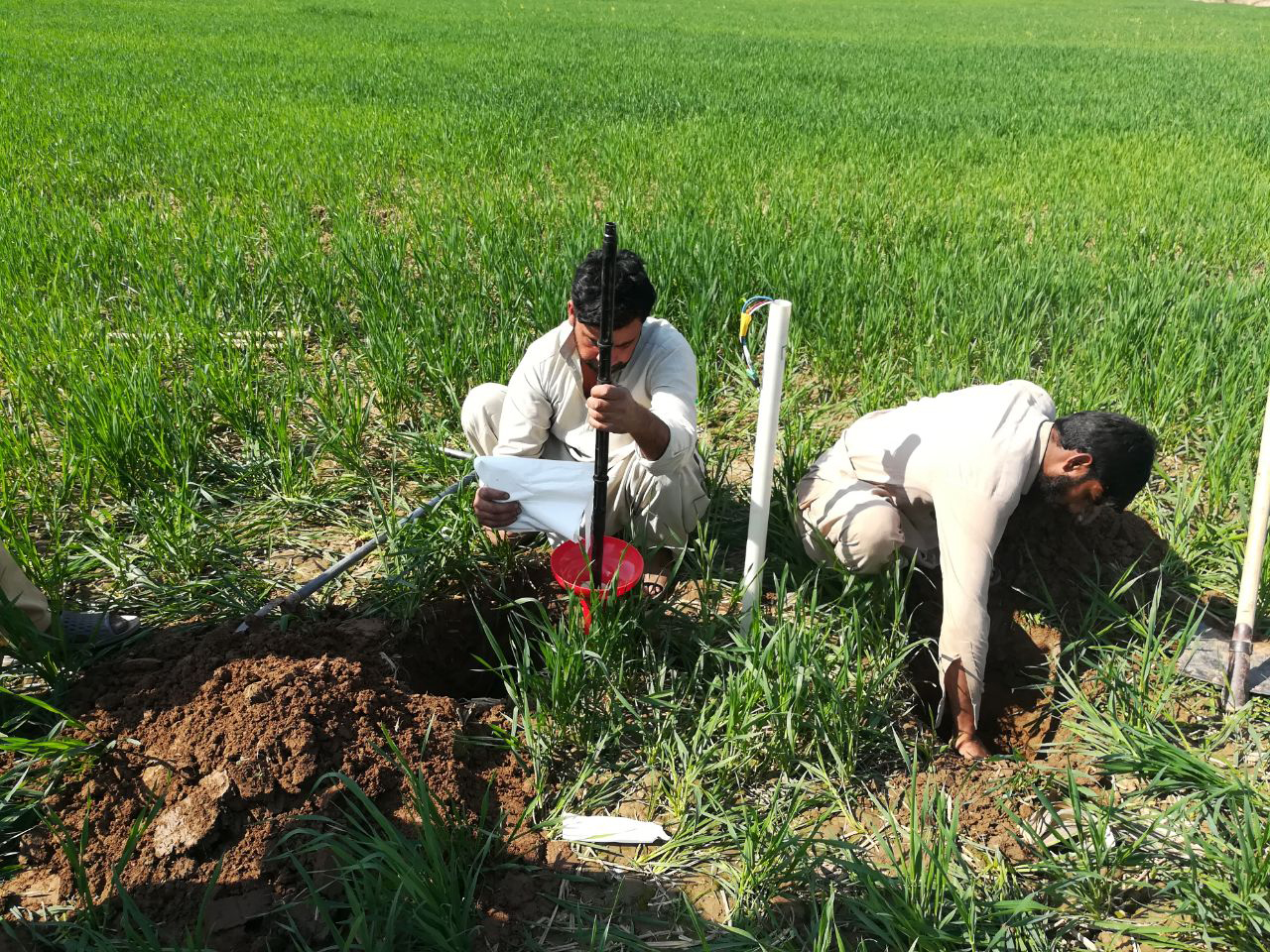 Farmers installing Full stop