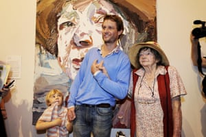 Ben Quilty and Margaret Olley at GOMA