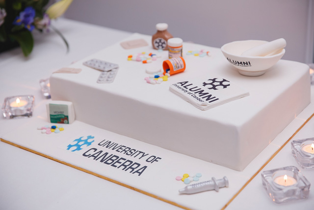 Pharmacy Reunion Cake