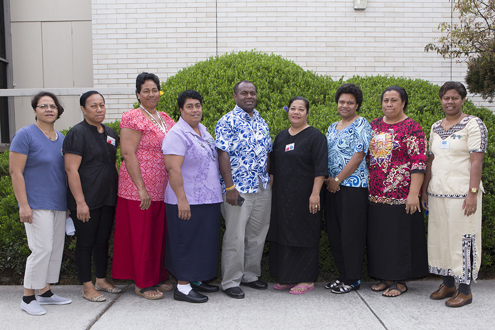 Midwives from the South Pacific at the University of Canberra