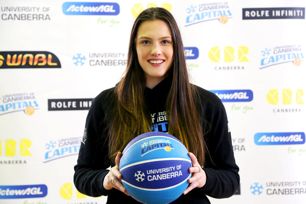 New UC Capital Lauren Scherf has been named in the emerging Opals side