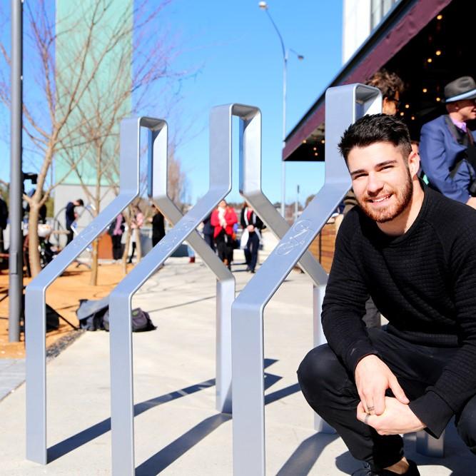 Rene Linssen, Bike Rack Design Competition Winner