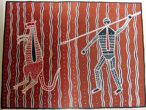 Spearing Roo, by Robert Campbell Jnr