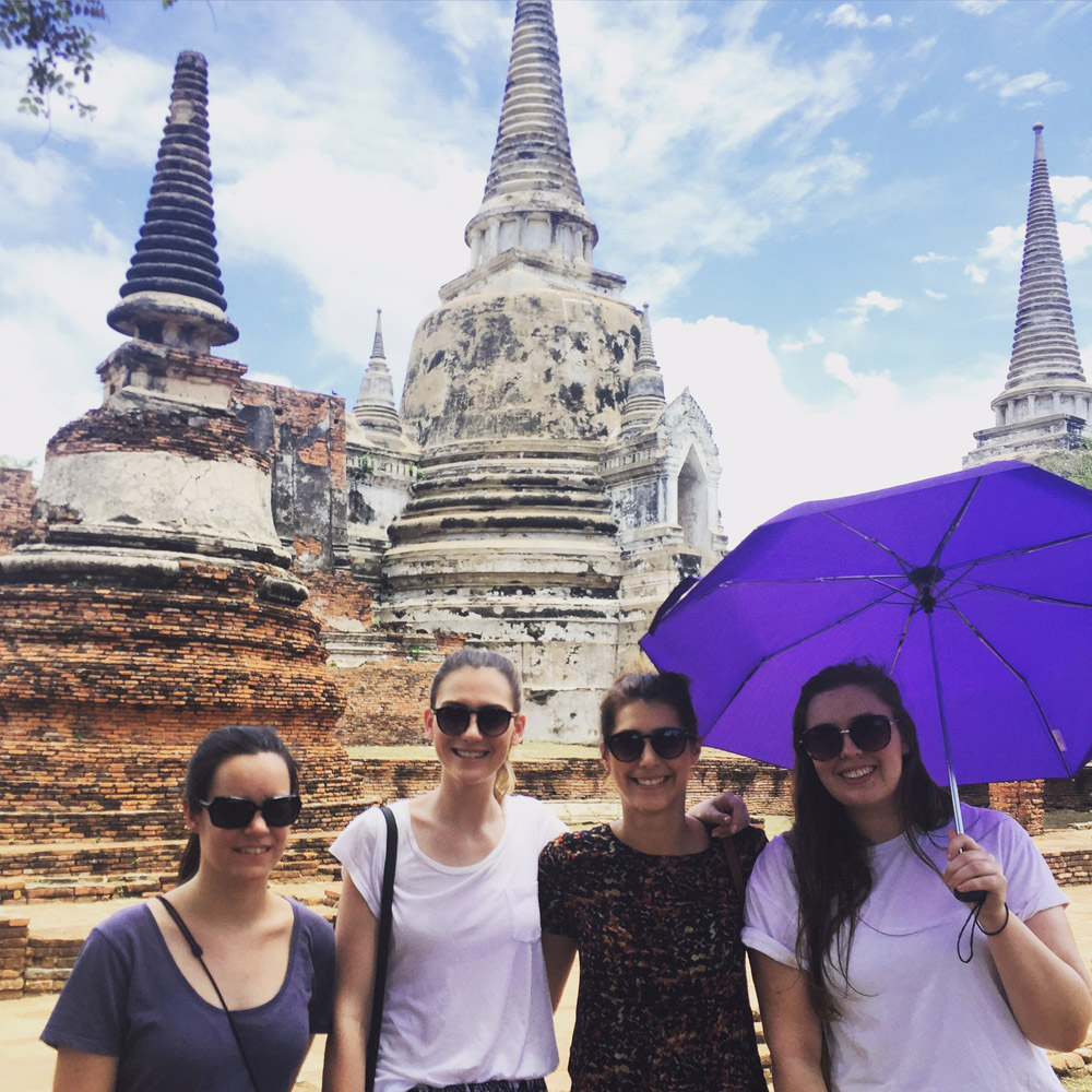 UC Students in Thailand
