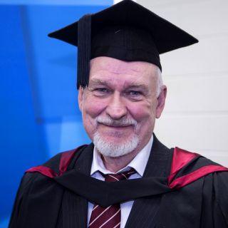 University of Canberra graduate Stephen Petersen