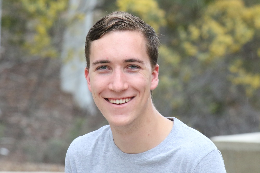 Hayden Lenord is a First Generation student at the University of Canberra.