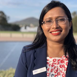 Image of Dr Sajeda Tuli Fulbright Scholar UC 2019