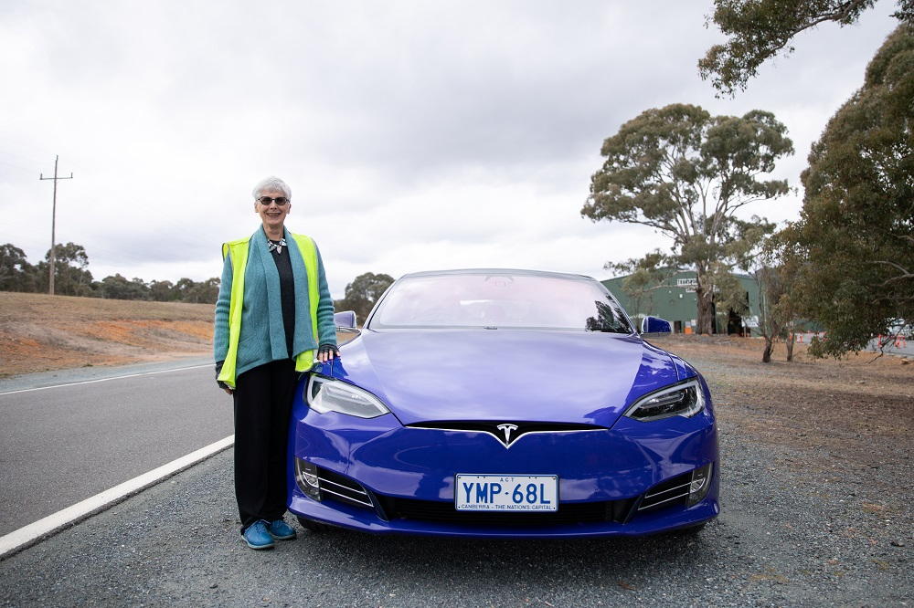 Participant Marie Keir feels that semi-autonomous driving technology will keep her independent for longer. Photo: supplied