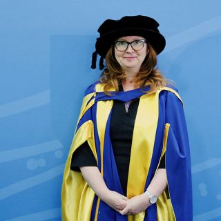 Katharine Murphy at the UC Graduation on 10 October 2019