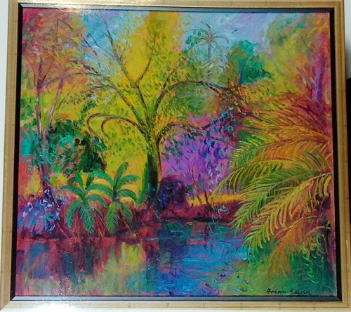 Autumn Pond by Brian Seidel