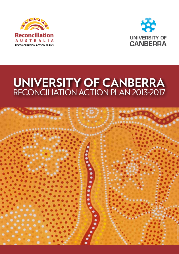 Cover page of the UC Reconciliation Action Plan 2013 - 2017