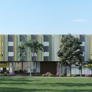 Artist impression of the Canberra Specialist Medical Centre