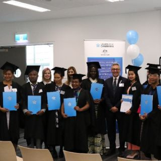 Australia Awards students 2018