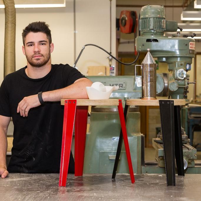 Industrial Design Student, Rene Linssen