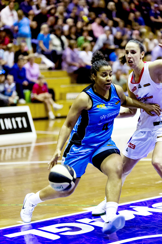 Janelle Adams has joined the UC Capitals for the 2016/17 WNBL season
