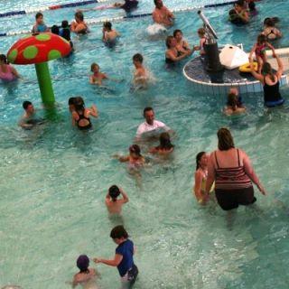 Kids at an ACT pool