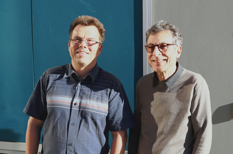 Professor Roland Goecke and Professor Jeffrey Cohn