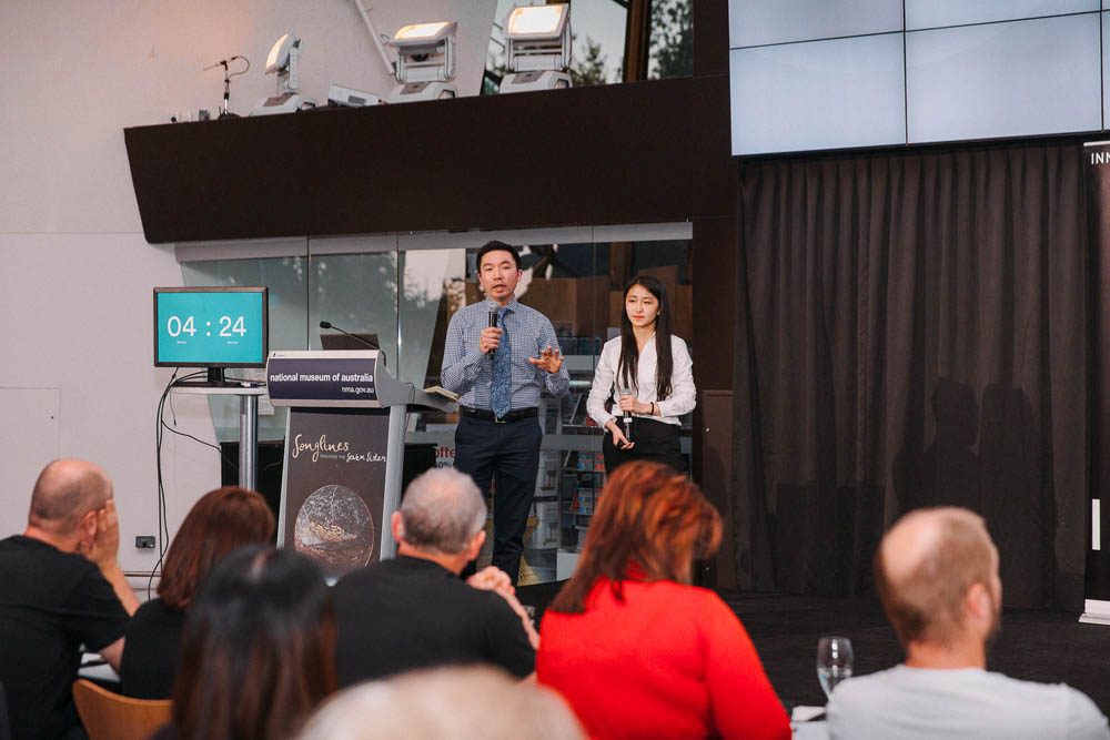 The ScriptsReady team deliver a winning pitch for InnovationACT